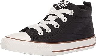 Converse Kids' Chuck Taylor All Star Street Pinstripe Mid Top Sneaker