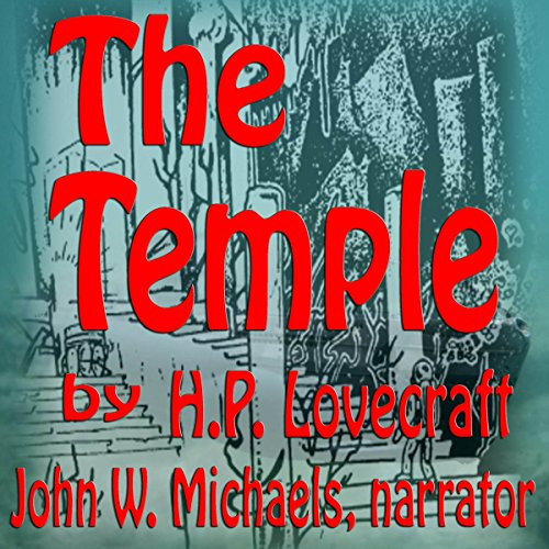 The Temple audiobook cover art