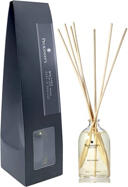 Pecksniff S Amber And Oud Wood Aroma Reed Diffuser