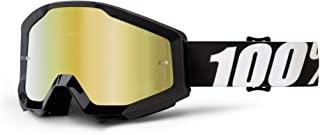 100% unisex-adult Speedlab (50410-233-02) STRATA Goggle Outlaw-Mirror Gold Lens, One Size