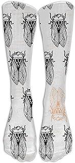 Hunter qiang, Calcetines de mujer de algodón único sexy, largo: 50 cm