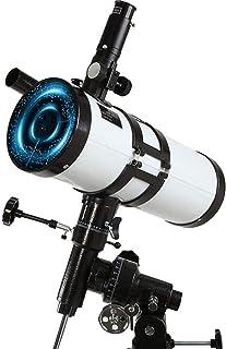 SXMY Astronomiskt reflektorteleskop levereras med stativ, 114 mm teleskop för astronomi, teleskop för astronomi barn och v...