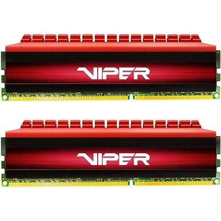 Patriot Memory Viper4 Series DDR4 3200MHz PC4-25600 32GBキット (2 x 16GB) デスクトップ用メモリ 永久保証 PV432G320C6K