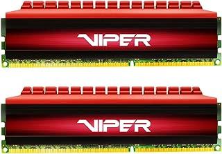Viper 4 16Go (2 x 8Go) DDR4 3000MHz C16 XMP 2.0 Kit de Mémoire Haute Performance- Rouge - PV416G300C6K