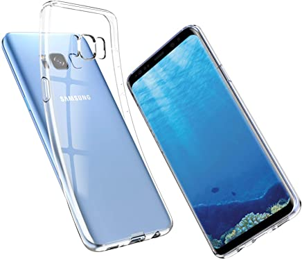 UNBREAKcable Samsung Galaxy S8 Case, Crystal Clear, Ultra-Thin Slim Soft TPU Silicone Protective Transparent Case Cover for Samsung Galaxy S8, Dustproof & Anti-Yellow