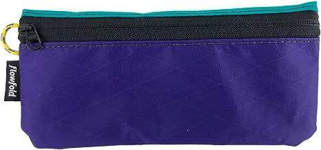 Flowfold Women's Zipper Pouch Wallet - Lightweight Everyday Carry-All Wallet - Made in USA
