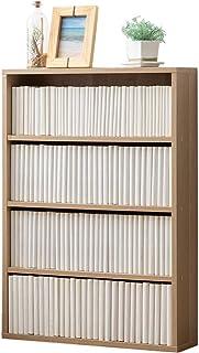 アイリスオーヤマ 本棚 コミックラック 大容量 幅59.9×奥行15×高さ84㎝ ナチュラル CORK-8460