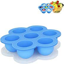 HYOUNINGF Silicone Egg Bites Molds for Instant Pot Accessories Food Freezer Trays & Ice Cube Trays Silicone Food Storage Containers As Seen On TV
