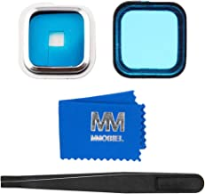 MMOBIEL Back Rear Camera Glass Lens Replacement incl Tweezers and Cloth Compatible with Samsung Galaxy S5 G900 Series