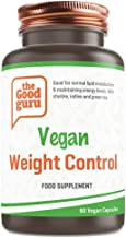Vegan Weight Control Capsules Supports Healthy Metabolism – Helps Support Healthy Glucose Metabolism 90 Vegan Capsules Made in UK by The Good Guru Estimated Price : £ 17,95