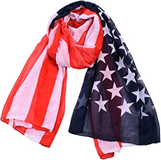 L.J.JZDY Scarves Scarfs for Women Lightweight Novelty Fashion Fall Winter Scarves Shawl Wraps US Scarf for Men (Color : US, Size : OneSize)