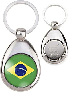 Italian Charm 9 mm Brésil Brésilien pays drapeau