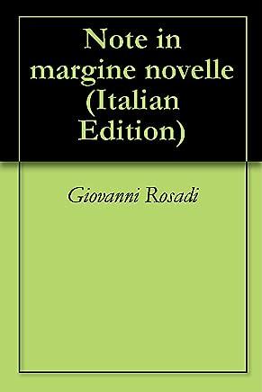 Note in margine novelle