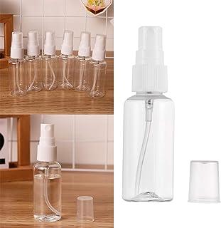 VV's AU 10Pcs Travel Portable Transparent Plastic Empty Spray Bottle Refillable Perfume Atomizer Bottles 5/10/30/50/80/100/200ml