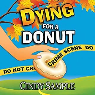 Dying for a Donut audiobook cover art