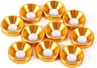 Verzonken Wasmachine, 10 Stks M4 Geanodiseerde Verzonken Hoofd Wasmachines Pakking Aluminiumlegering, met Hoge Kwaliteit e...