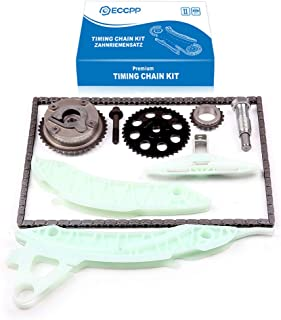 Engine Timing Chain Kit,ECCPP Automotive Replacement Timing Parts without Water Pump Sets for 2007-2010 Mini Cooper s Club...