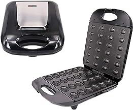 Machine à Gaufrier Noix électrique Grande Capacité 24, Automatique Boulanger Noix Gaufre Sandwich Machine à Cuire Pour Gri...