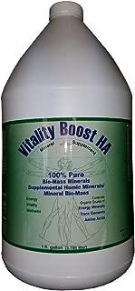 Viatlity Boost HA Humic Minerals Trace Elements Vitamins and Amino Acids Morningstar Minerals (1 Gallon)