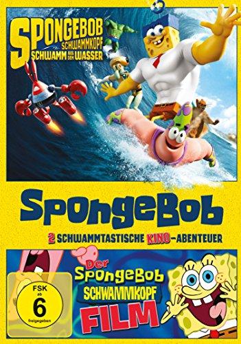 SpongeBob Schwammkopf - Der Film & Schwamm aus dem Wasser [2 DVDs]