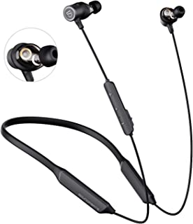 $35 » SOUNDPEATS Force Pro Dual Dynamic Drivers Bluetooth Headphones, Neckband Wireless Earbuds with Crossover, APTX HD Audio Bu...