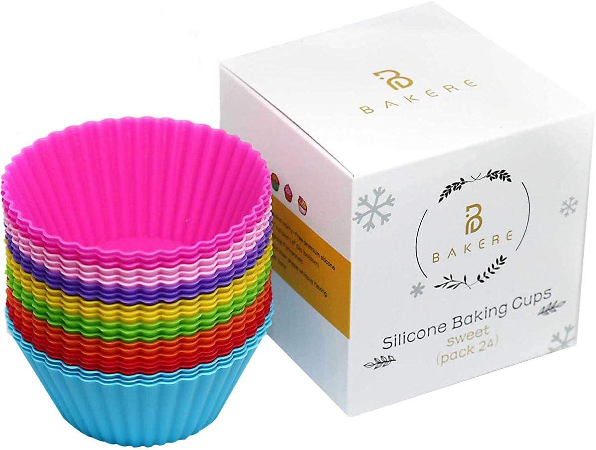 Silicone Cupcake Baking Cups Reusable Cheap super special price LFG European Stick Factory outlet Non