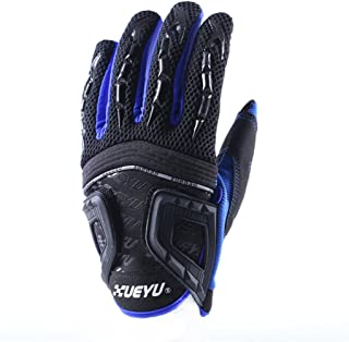 Motorcycle Gloves Riding Street Bike Leather Windproof for Men Ladies