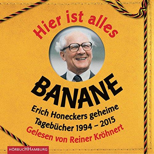 Hier ist alles Banane audiobook cover art