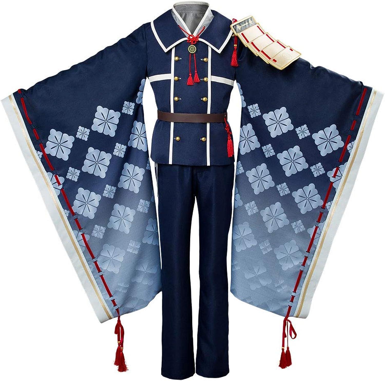 80% de descuento rojoJade Touken Ranbu Ranbu Ranbu Hakusan Yoshimitsu Traje de CosJugar Caballeros S  calidad auténtica