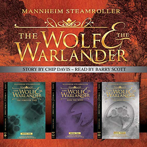 The Wolf and the Warlander audiobook cover art