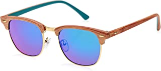 Tfl Half Frame Unisex Sunglasses - 16316-45-15-142 Mm, 142mm Multi Color
