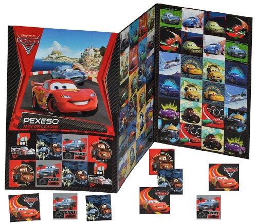 alles-meine.de GmbH Gedächtnis Spiel - Disney Cars Lightning McQueen - zum Ausschneiden Autos Cars Auto - für Jungen Bastelset Memo Spiel Gedächtnisspiele Kinder / Kartenspiel Ka..