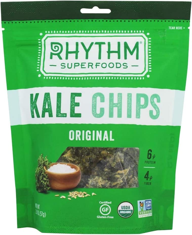 Rhythm Kale Chips - Original of Indianapolis Mall oz 2.0 Selling rankings Pack 12