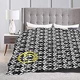 KAGOU Sherlock Wallpaper Design Ultra-Soft Micro Fleece Blanket 80' X60