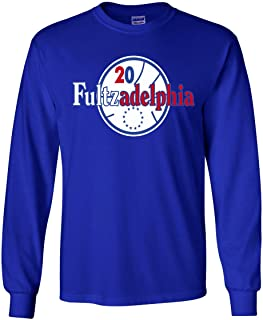 The Silo Long Sleeve Blue Philadelphia Trust The Process Markelle Fultzadelphia T-Shirt