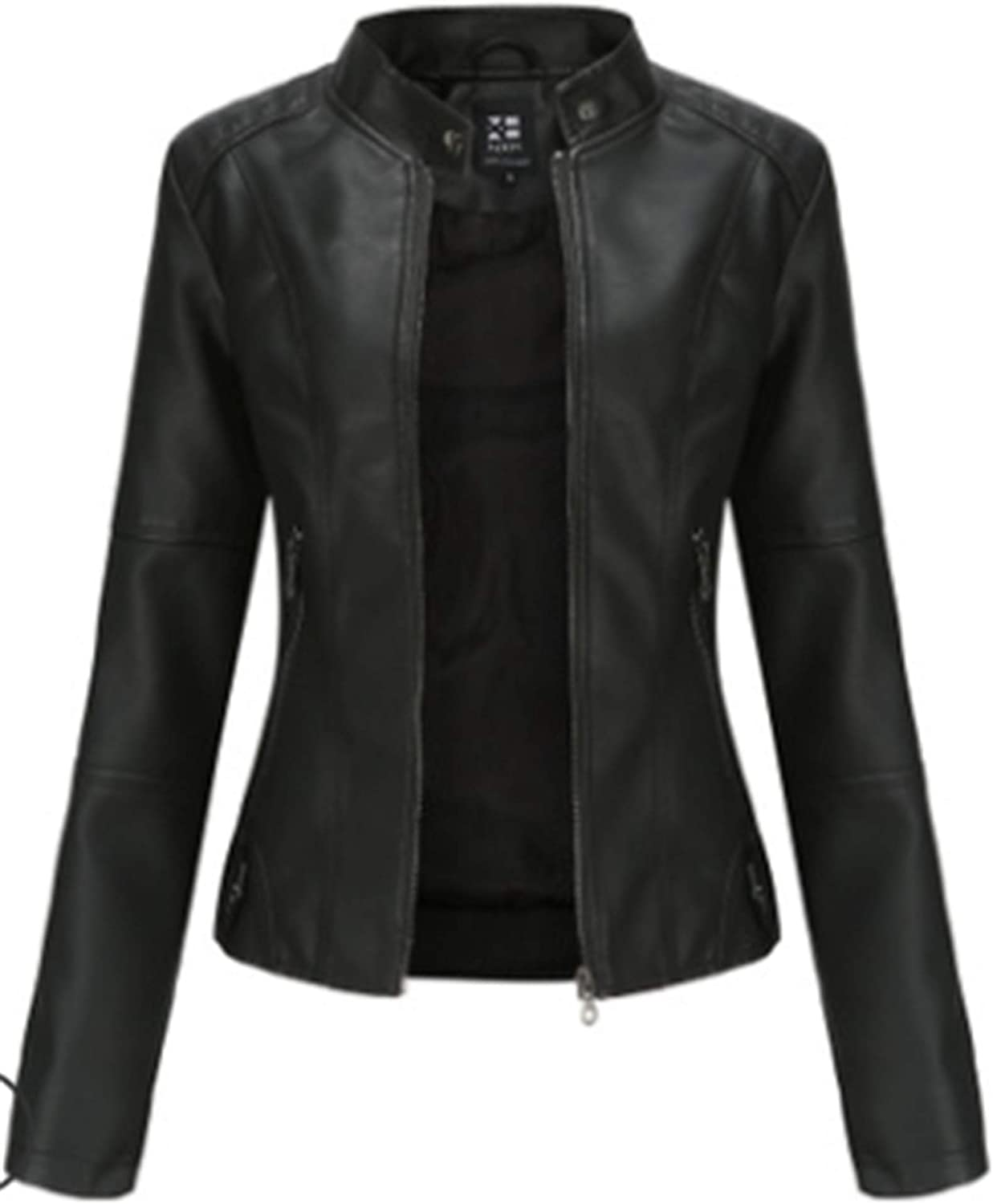 Yiqinyuan Faux gift Leather PU Jacket Sale special price Autumn Fashion Mot Spring Women