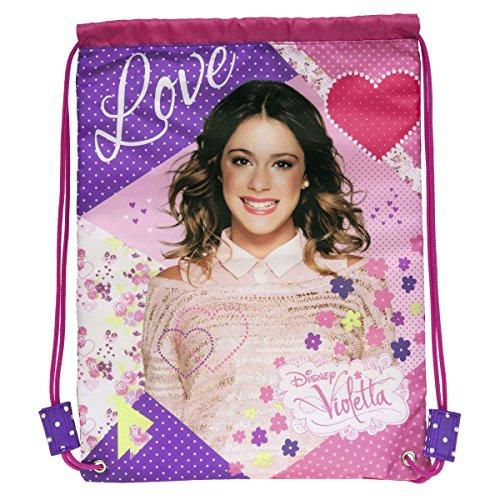 SACCA ZAINO VIOLETTA 'LOVE'
