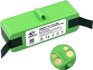 Melasta ルンバ用 リチウムイオンバッテリー【PSE認証済み】 長時間稼動 iRobot ロボット掃除機 バッテリー (14.8V 5000mAh ルンバ500・600・700・800シリーズ対応