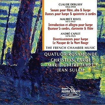 Debussy, Ravel, Caplet : Musique de chambre