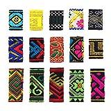 Lychee Fabric Dreadlock Bead 15 Pcs Hair Accessories Fashion New Hip-Hop Style