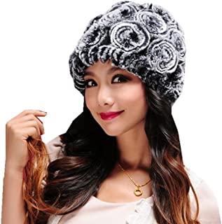 Fheaven Women Fashion Hats Handmade Warm Caps Female Headgear