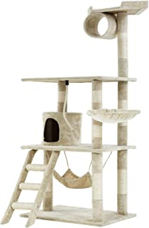 Mumoo Bear Cat Condo Tower Scratching Post Activity Tree House Furniture