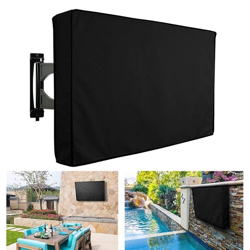 GJQDDP Cubierta De TV para Exteriores, Protector Universal Resistente A La Intemperie para Pantallas LCD, LED De 22