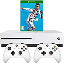 Xbox One S 1TB with FIFA 19 and Extra Controller Bundle - White