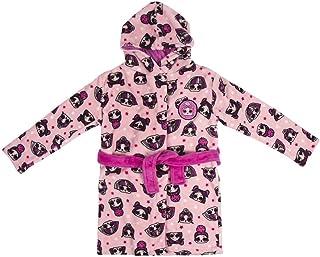 Abbigliamento Ufficiale LOL OMG Idea Regalo di Natale Surprise Vestaglia Bambina L.O.L Vestaglie in Pile con Unicorn LOL Surprise E Kitty Queen LOL