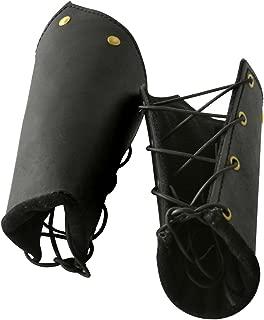 Armor Venue: Knights Leather Battle Arm Guard Bracers Medieval Armor Costume