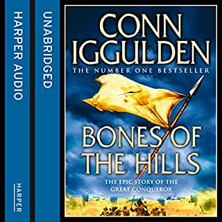 Bones of the Hills                   By:                                                                                                                                 Conn Iggulden                               Narrated by:                                                                                                                                 Rupert Farley                      Length: 17 hrs and 48 mins     291 ratings     Overall 4.6