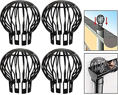 Massca Down Pipe Gutter Balloon Guard Filter Strainer Pack Of 4 Buy Online In Bermuda At Desertcart Productid 39936488