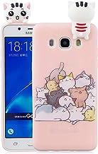 EuCase Funda para Samsung Galaxy S7 Edge Silicona Suave Flexible Carcasa Samsung S7 Edge 3D Ultra Delgado Goma TPU Antigolpe Caso Patr/ón de Animales Cubierta Protecci/ón Bumper Case Unicornio Rosa