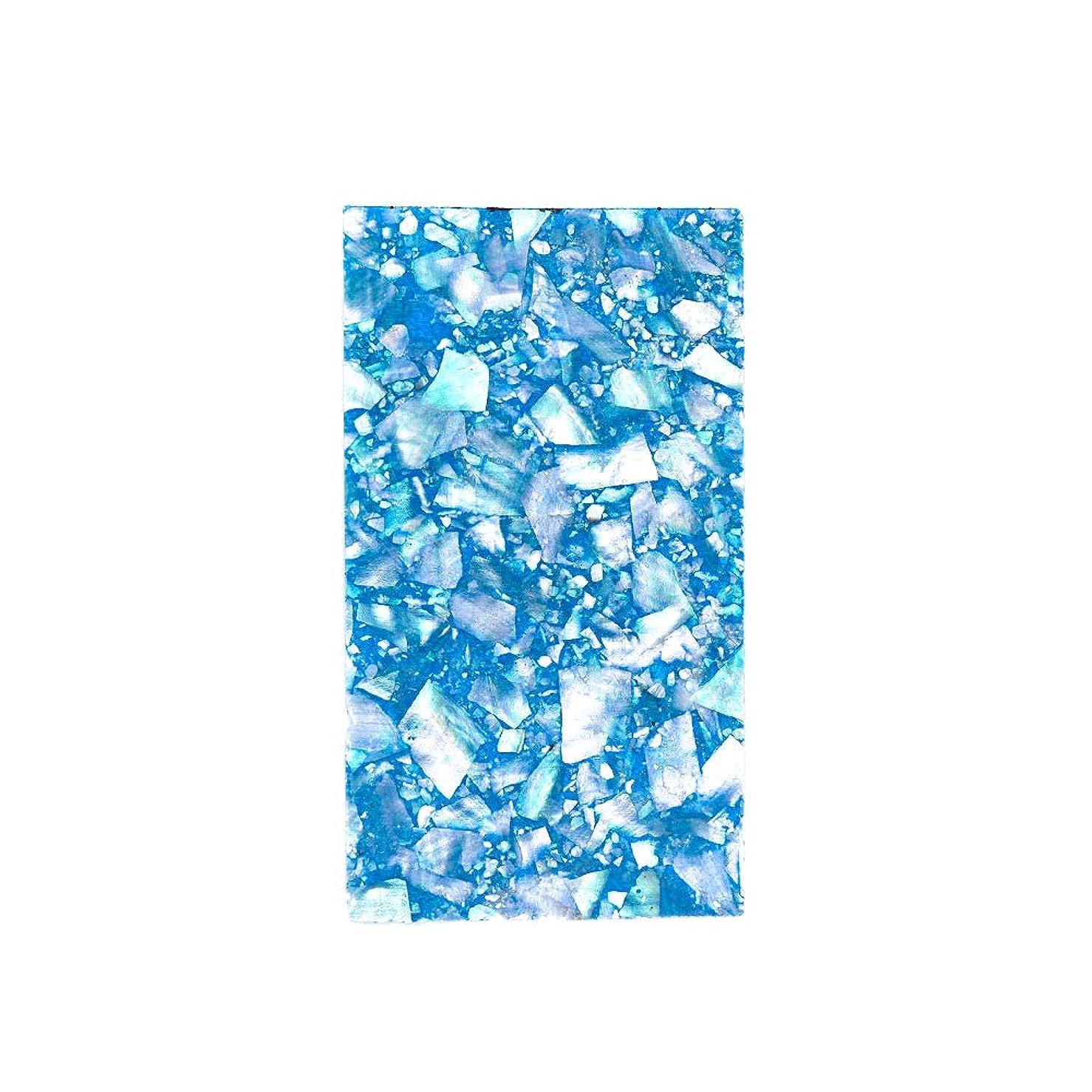 古風なと組む教養があるirogel イロジェル ネイルアート クラッシュシェルシート【ブルー】